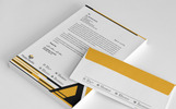 Security Service Company Stationery Corporate Identity Template