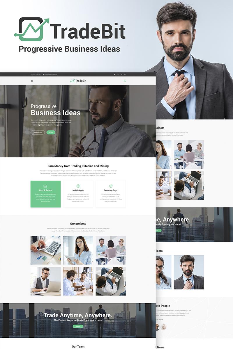 Адаптивный шаблон №67017 на тему бизнес и услуги, финансы, финансовые консультации