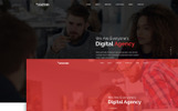 Plantilla PSD para Sitio de Tecnología de la información