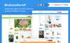 Medicine Store Online Drug, Organic & Food E-Commerce OpenCart Template Big Screenshot