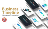 "PowerPoint Vorlage namens ""Business Timeline - Infographic"""