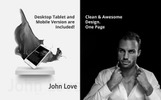 JOHN LOVE - Creative Portfolio Muse Template