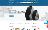 Modèle Web Bootstrap  pour boutique informatique