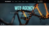 Millennium - Creative Responsive Minimalistic HTML Website Template