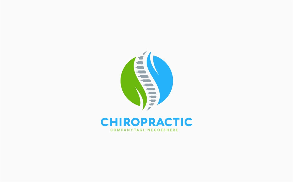 Chiropractic Recovery Logo Template #65529