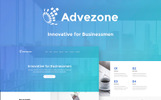 Advezone - Financial Advisor Wordpress Teması