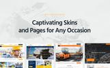 Tema WordPress Flexível para Sites de Empresa de Construção Civil №53591
