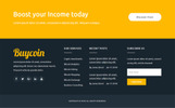 BuyCoin - Bitcoin And Cryptocurrency Responsive HTML Website Template