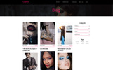 Motyw WordPress Cosmo - Model Agency #67606