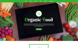 Organic Food Unbounce Template