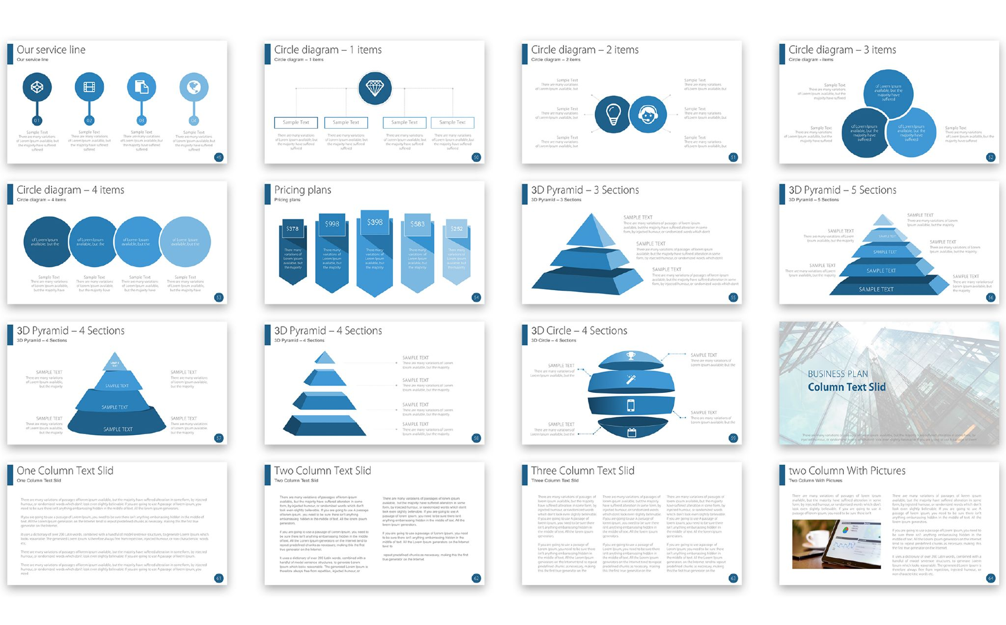 Business plan powerpoint template 67200 business plan powerpoint template big screenshot toneelgroepblik Choice Image