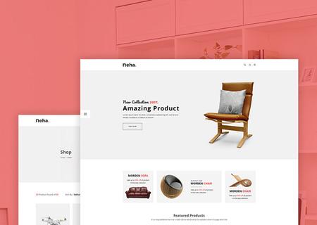 Neha - Responsive Multipurpose eCommerce