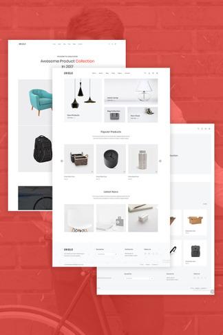 5045224cc Uniqlo - Минималистичная WooCommerce тема. Jka — WooCommerce шаблон интернет -магазина одежды