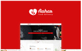 Responsywny szablon strony www Aahar -  Food Delivery Bootstrap4 #67272