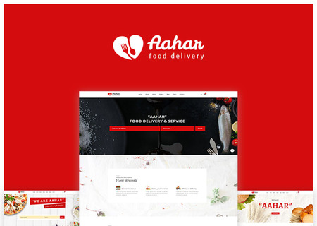 Aahar -  Food Delivery Bootstrap4