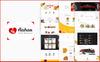 Responsywny szablon strony www Aahar -  Food Delivery Bootstrap4 #67272 Duży zrzut ekranu