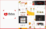 Aahar -  Food Delivery Bootstrap4 Website Template