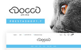 "PrestaShop шаблон ""Doggo - Pet Shop"""