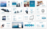 Business Graph Presentation Template PowerPoint №67383