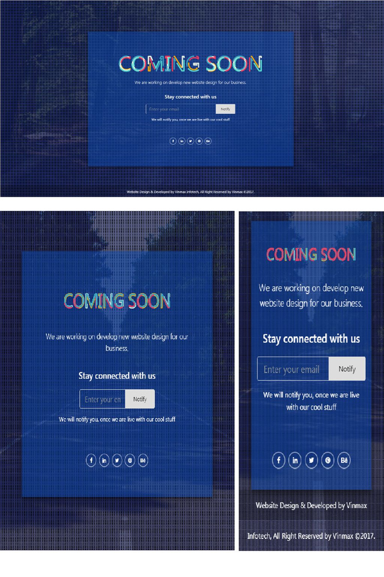 max coming soon page bootstrap 4 responsive html specialty page 67311