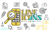 Line Iconset Template