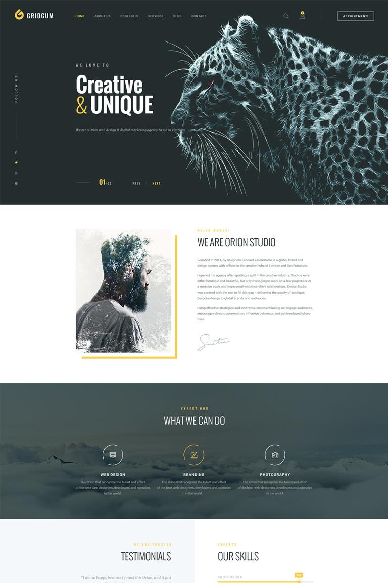 Website Vorlage #67873 für Web Design