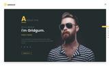 Bootstrap Šablona mikrostránek na téma Designové studio
