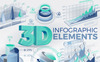 3D Infographic Elements Big Screenshot
