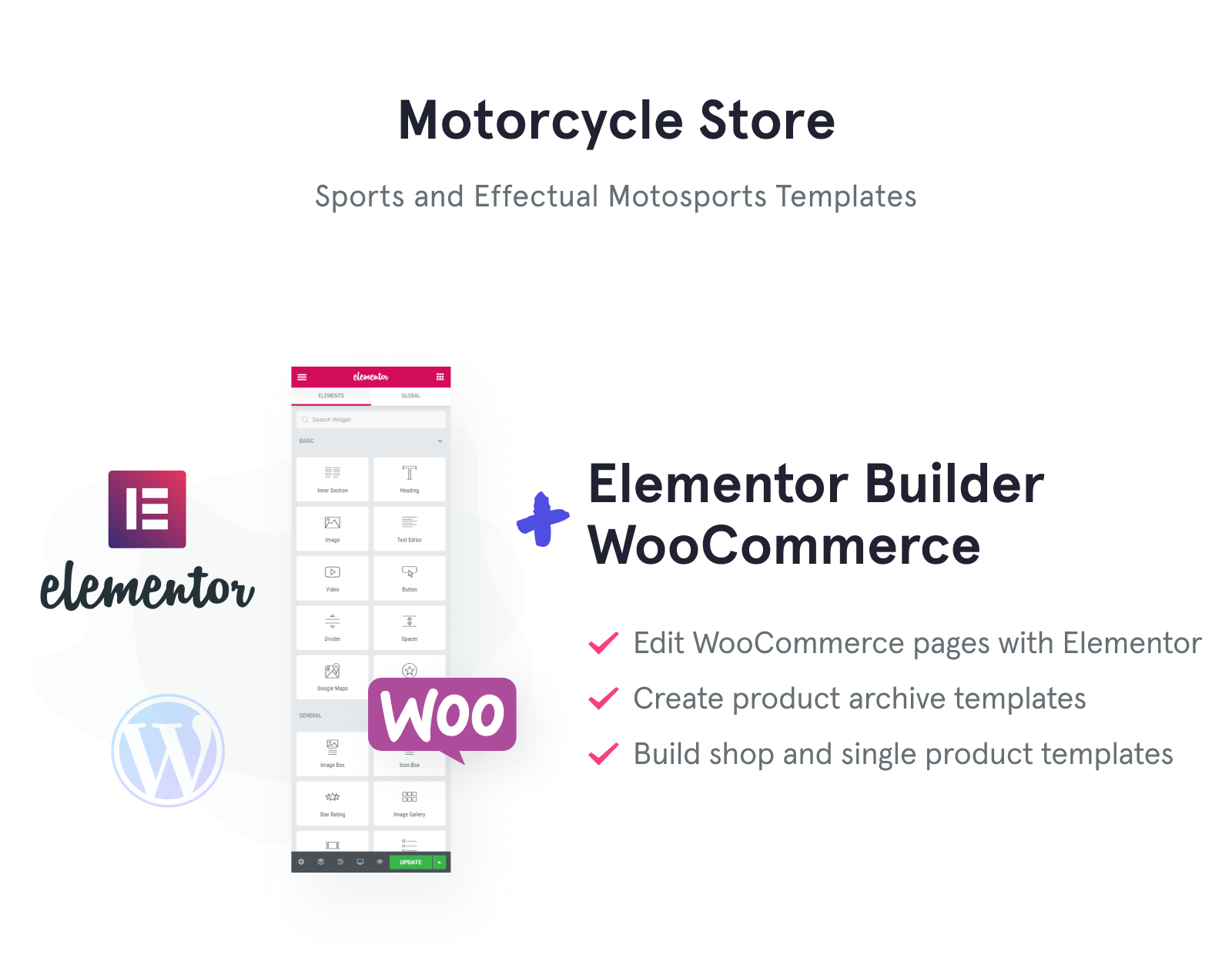 Motorcycle Store WooCommerce Theme
