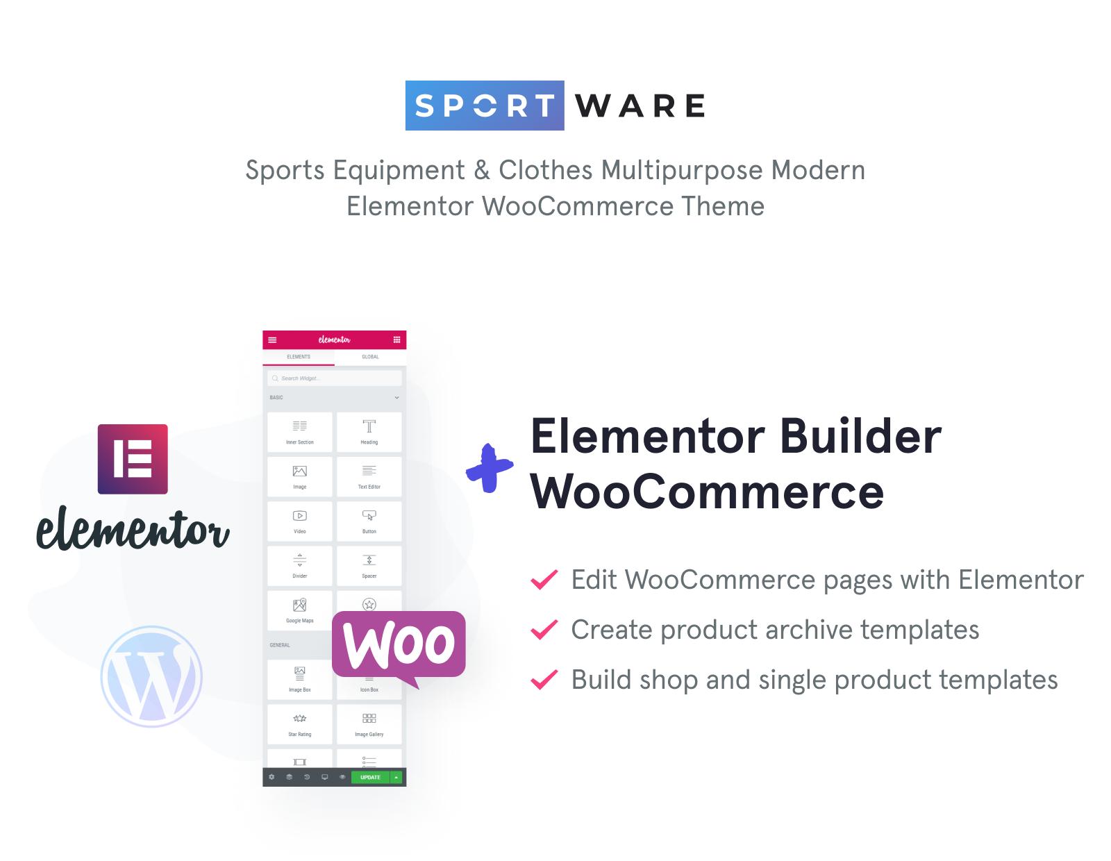 SportWare - Sport Equipment & Clothes WooCommerce Theme