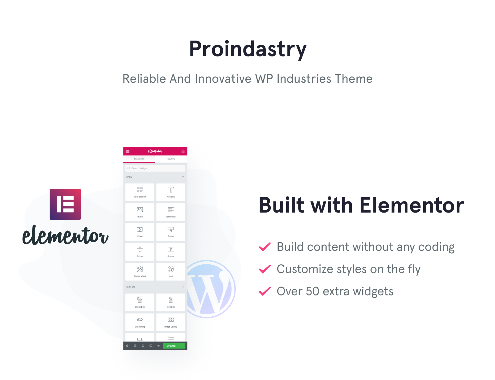 ProIndustry WordPress Theme