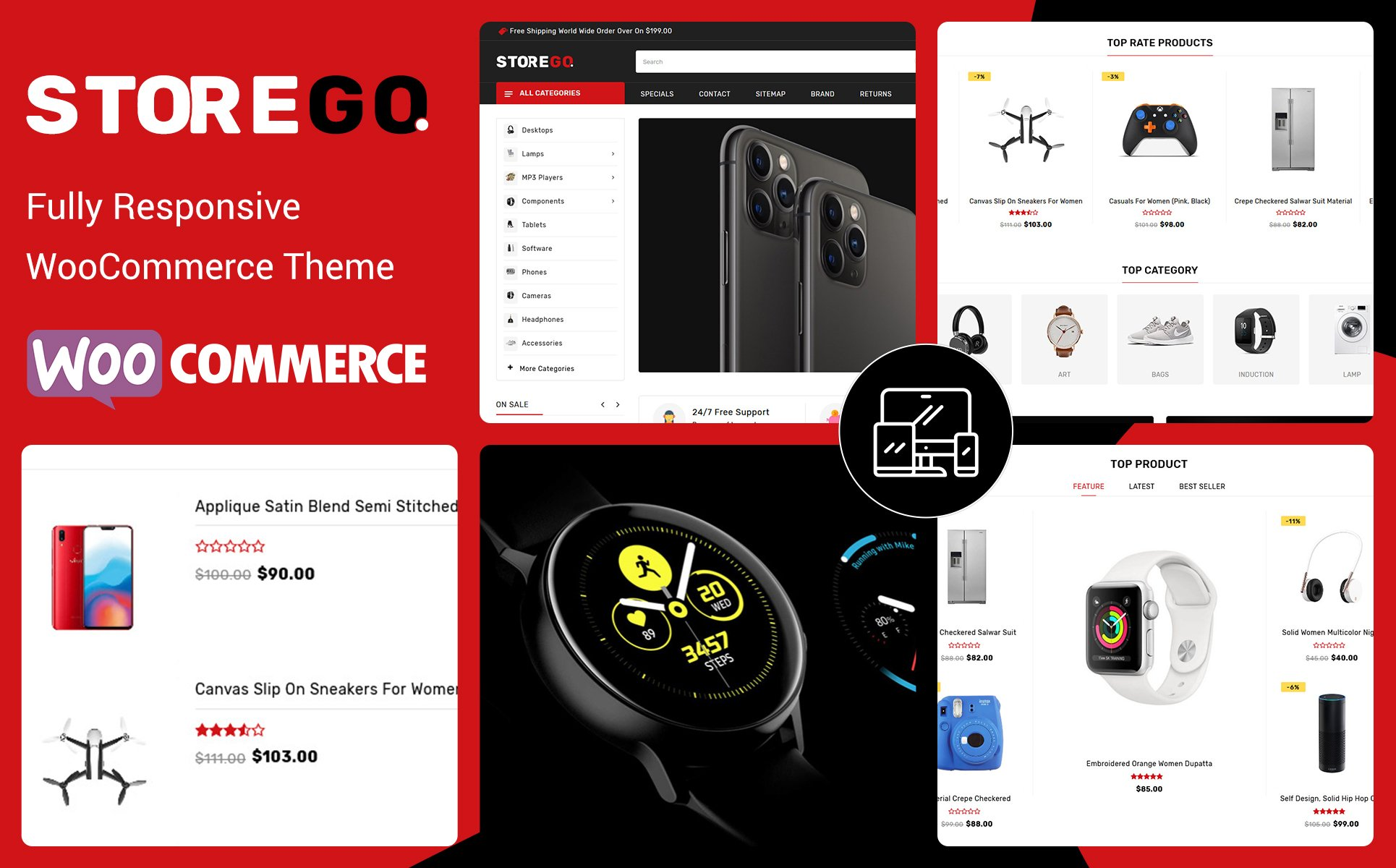StoreGo - MultiPurpose Electronic Store WooCommerce Theme