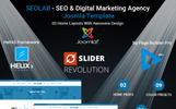 "Responzivní Joomla šablona ""SEOLAB - SEO & Digital Marketing Agency"""