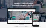 "Tema WordPress Responsive #67116 ""Mortgates - Financial Services"""