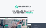 Mortgates - Financial Services WordPress Theme