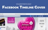 Valentine Party Event Night Club Facebook Timeline Cover Social Media