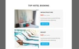 Responsivt Travel - Responsive Email Newsletter-mall