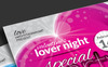 Valentine Day Package: Flyer, Event Ticket, Facebook Timeline Cover, VIP Pass and Invitation Card Bundle Big Screenshot
