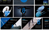 Eight Creative Keynote Template