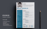 Resume-Bailey Franklin Resume Template