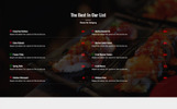 Cafe -  Restaurant / Cafe Single Landing Page Template