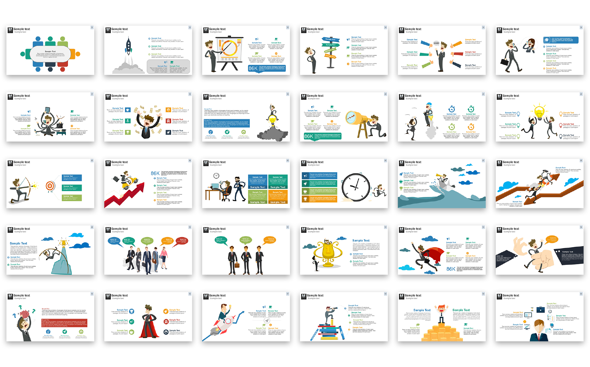 Business presentation powerpoint template 67451 business presentation powerpoint template big screenshot wajeb Images