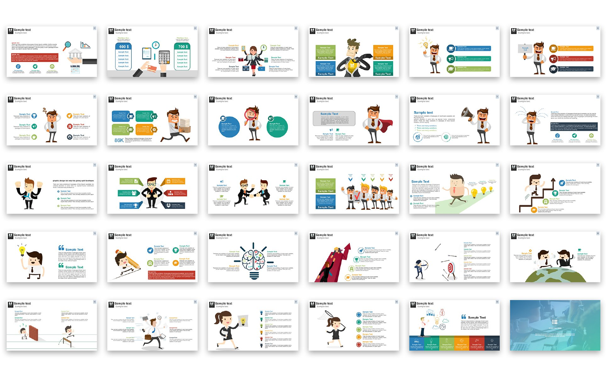Business presentation powerpoint template 67451 business presentation powerpoint template big screenshot fbccfo Image collections