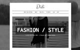 Template WordPress Responsive #64081 per Un Sito di Fashion Blog