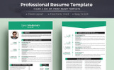 David Anderson CV - Professional MS Word Format Resume Template