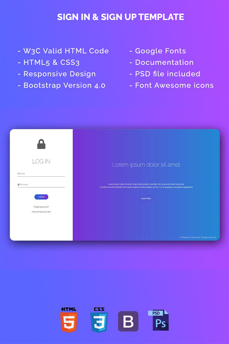 Sign in sign up template html5 bootstrap v40 specialty page 67252 sign in sign up template html5 bootstrap v40 specialty page big maxwellsz