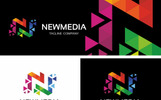 Newmedia Polygon - Logo Template