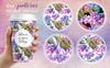 Hydrangea PNG Watercolor Flower Set Bundle Big Screenshot