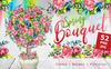 Spring Bouquet &  Watercolor Fower - Bundle Big Screenshot