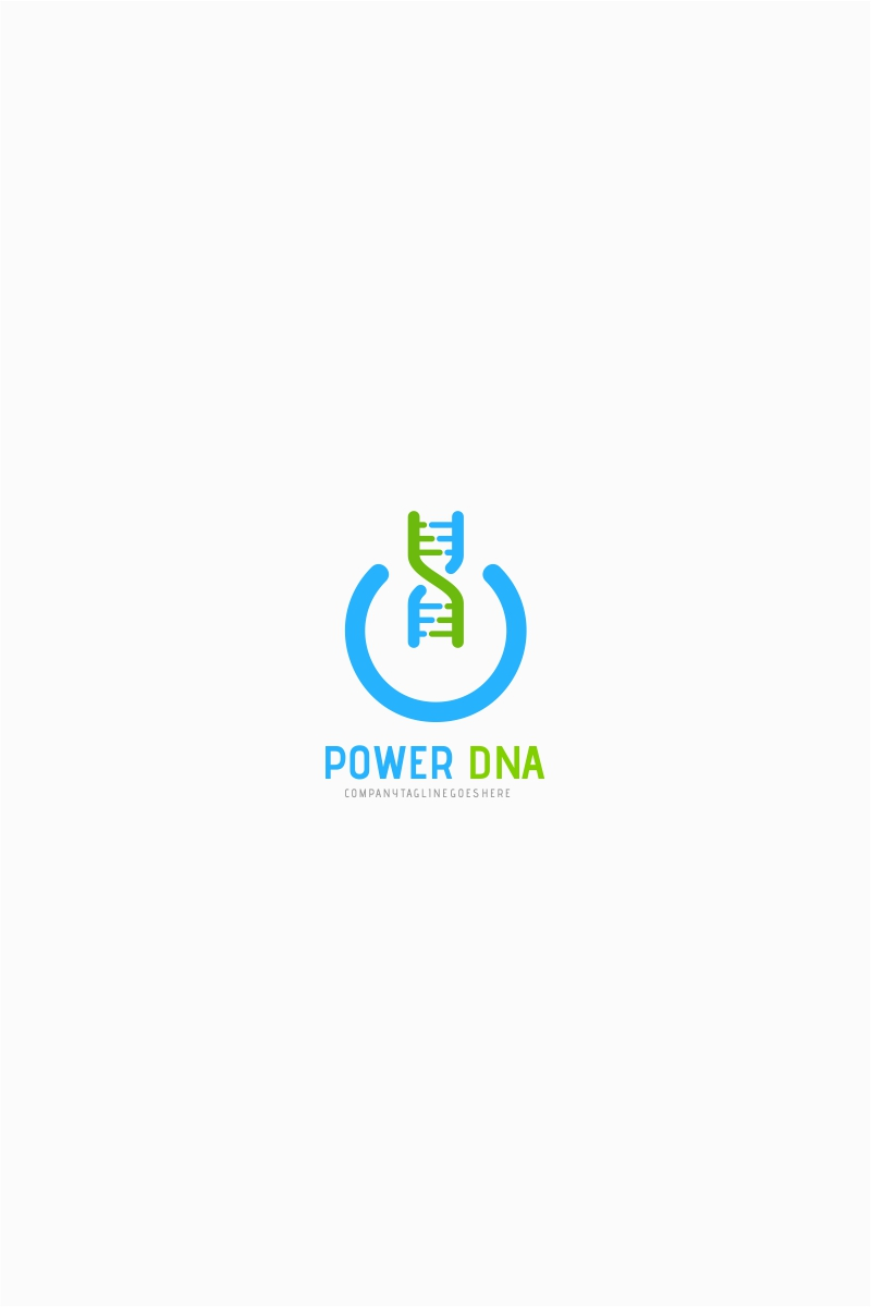 Power DNA Logo Template #65502